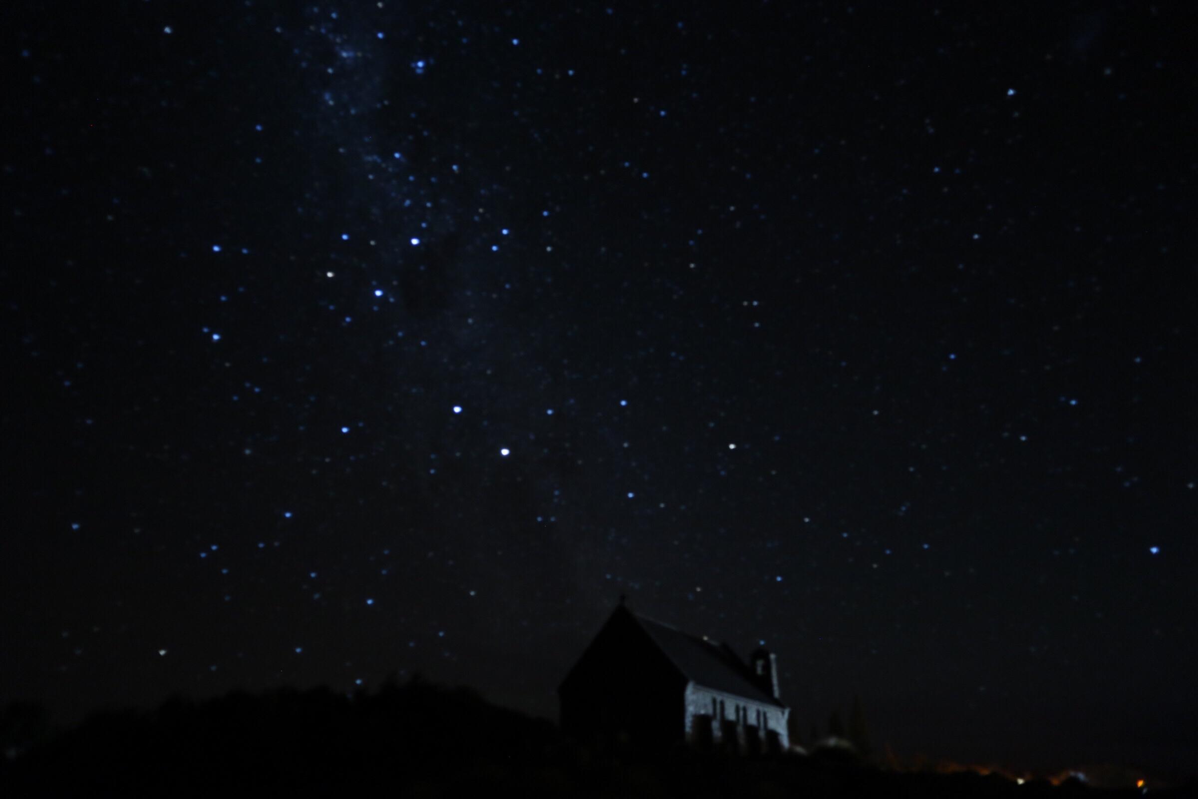 テカポ湖!ー星空は世界遺産級ー