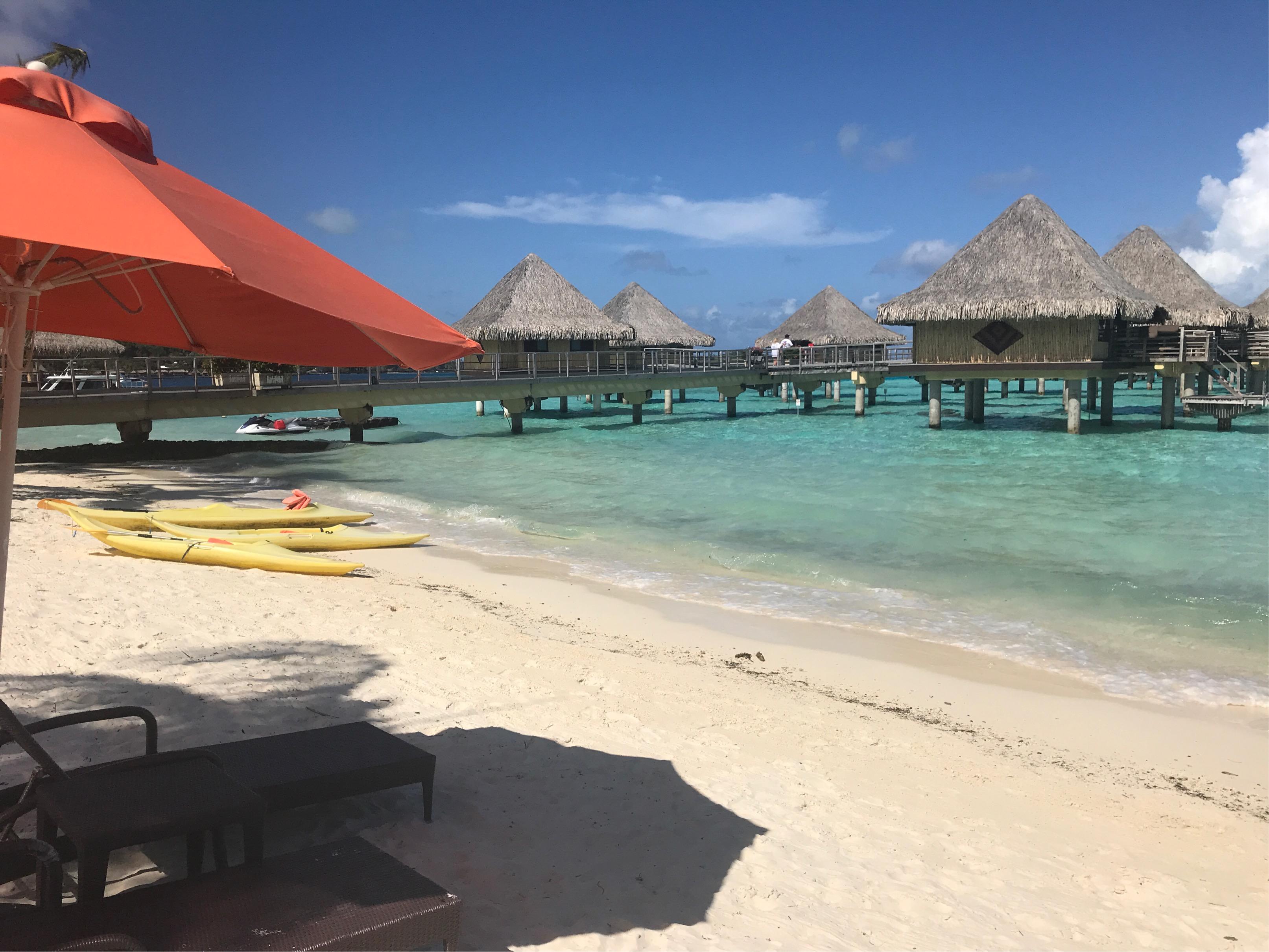 ボラボラ島のビーチ