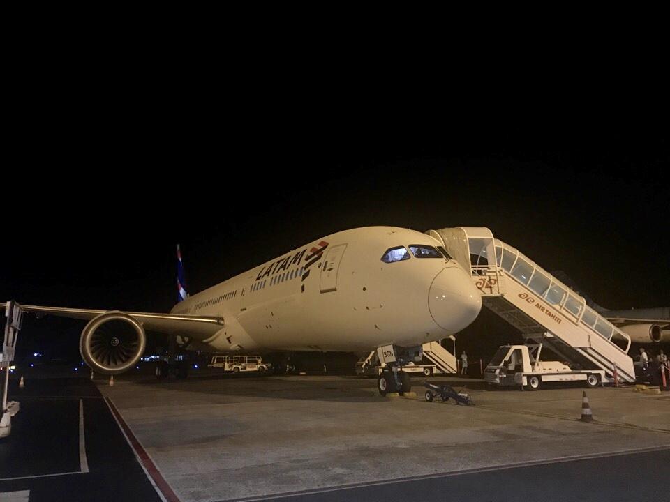 LATAM航空ビジネスクラス