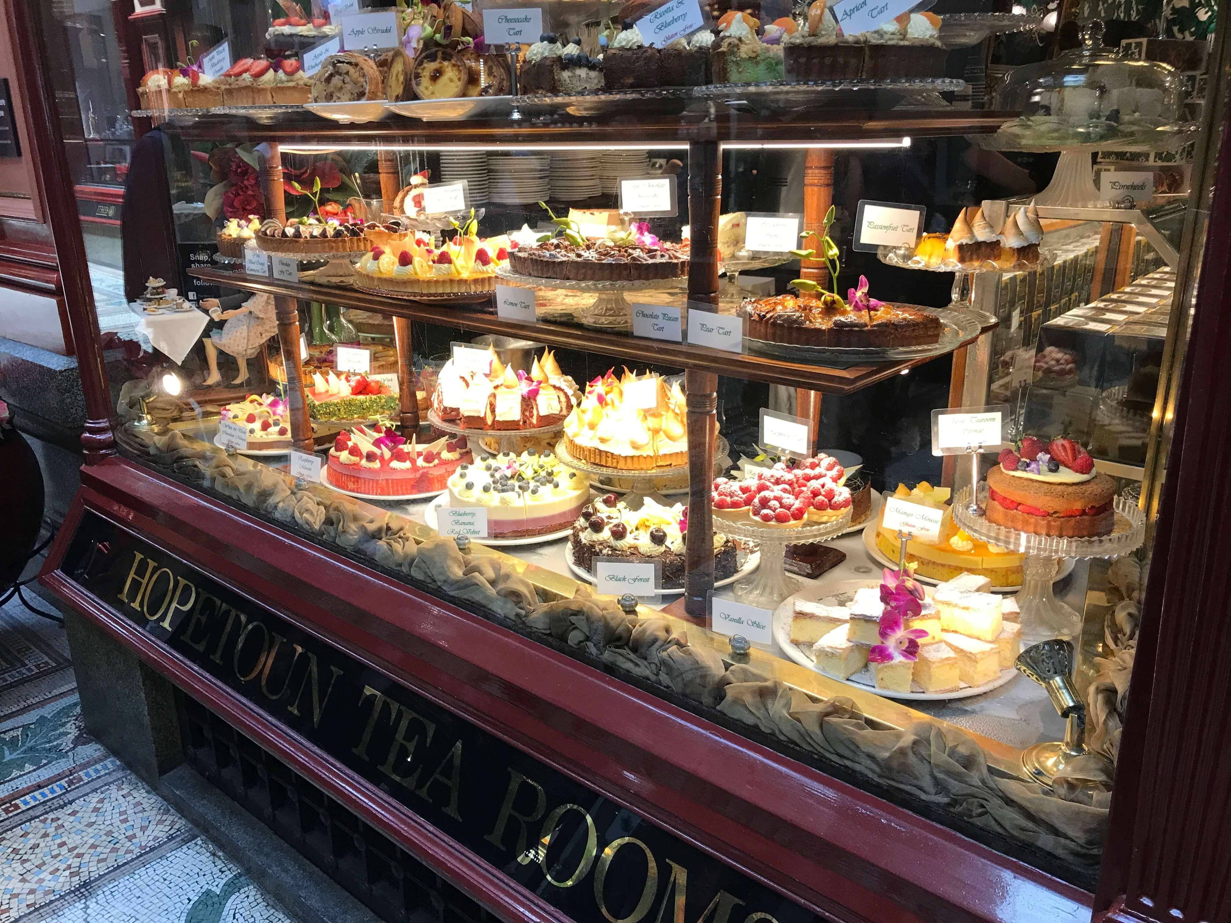 メルボルンのケーキ屋