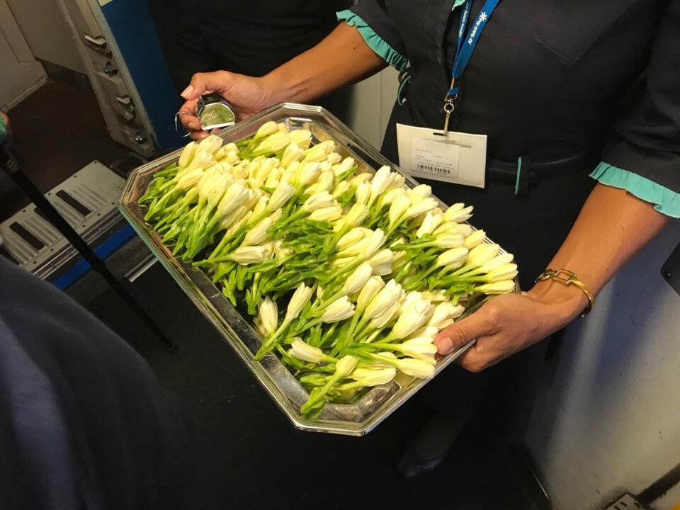 エアタヒチヌイの花