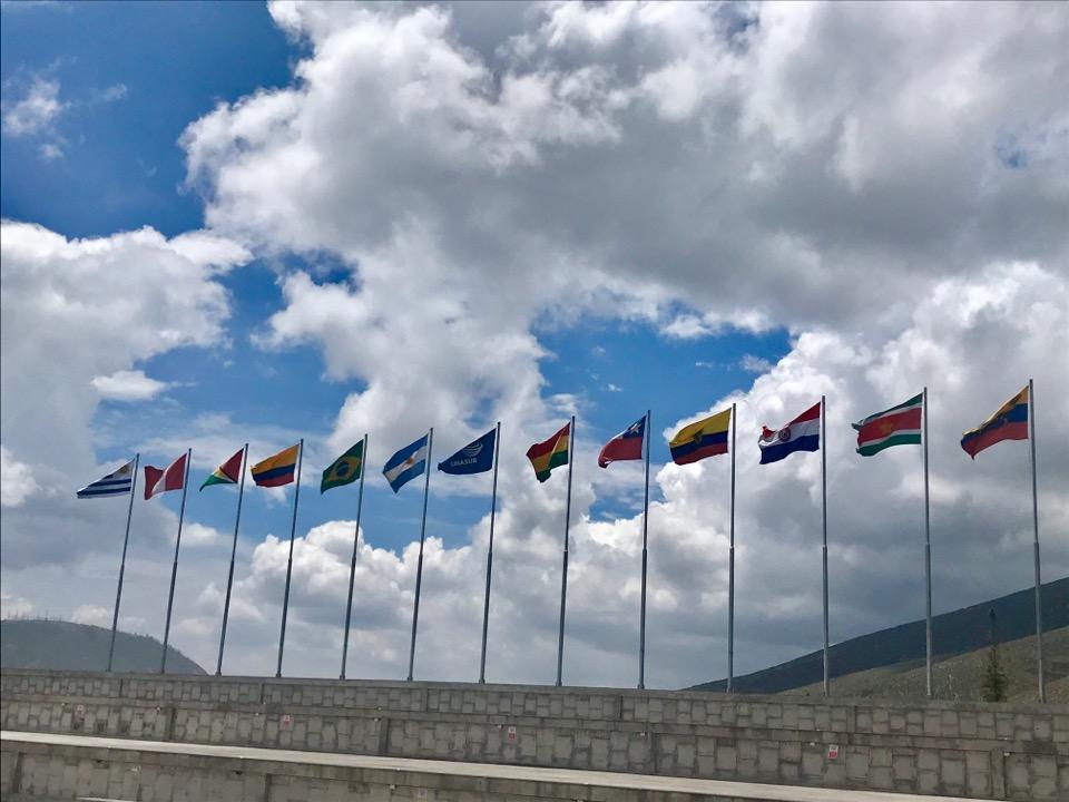 南米の国旗