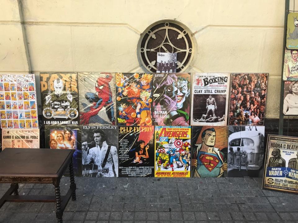 サンティアゴの絵画