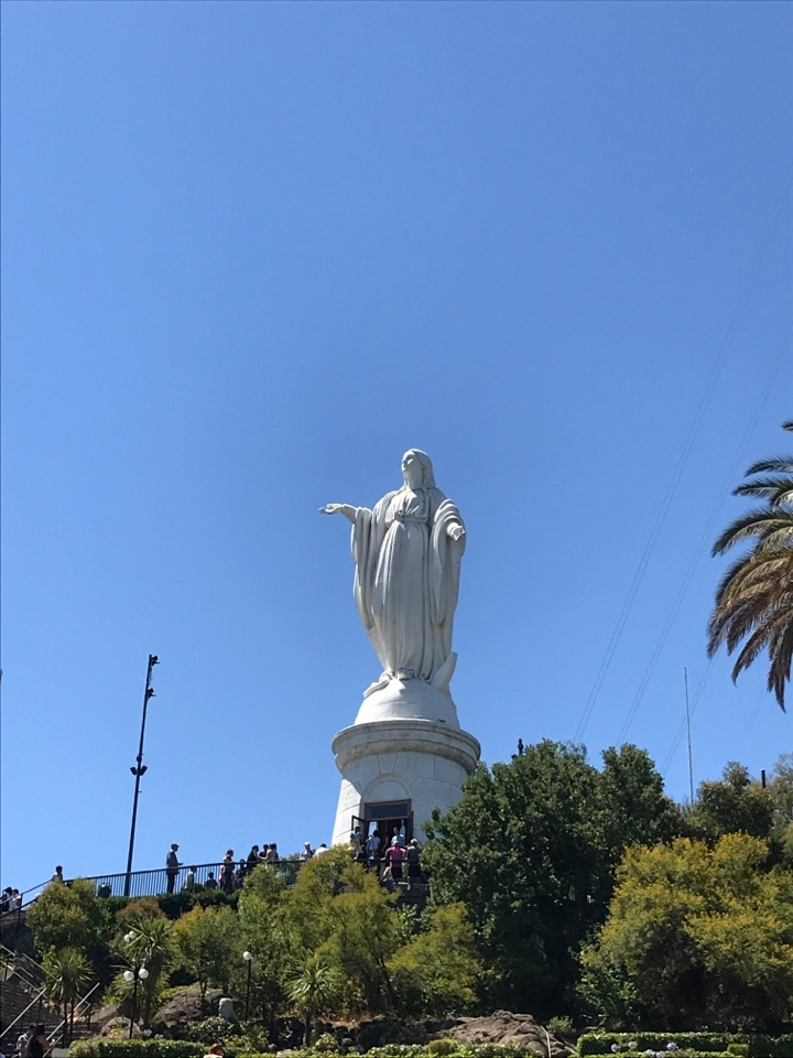 サンティアゴの像