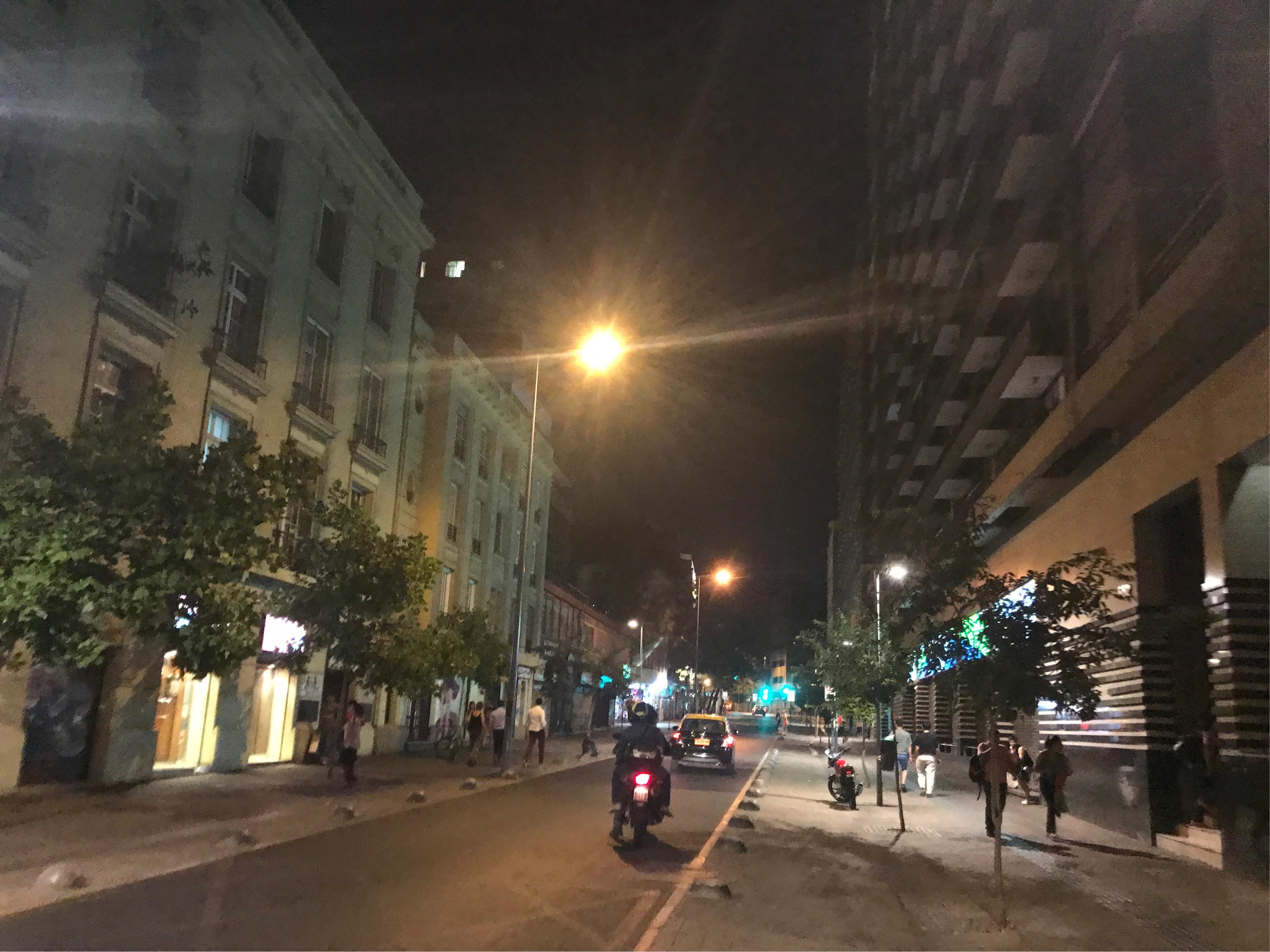 サンティアゴの街