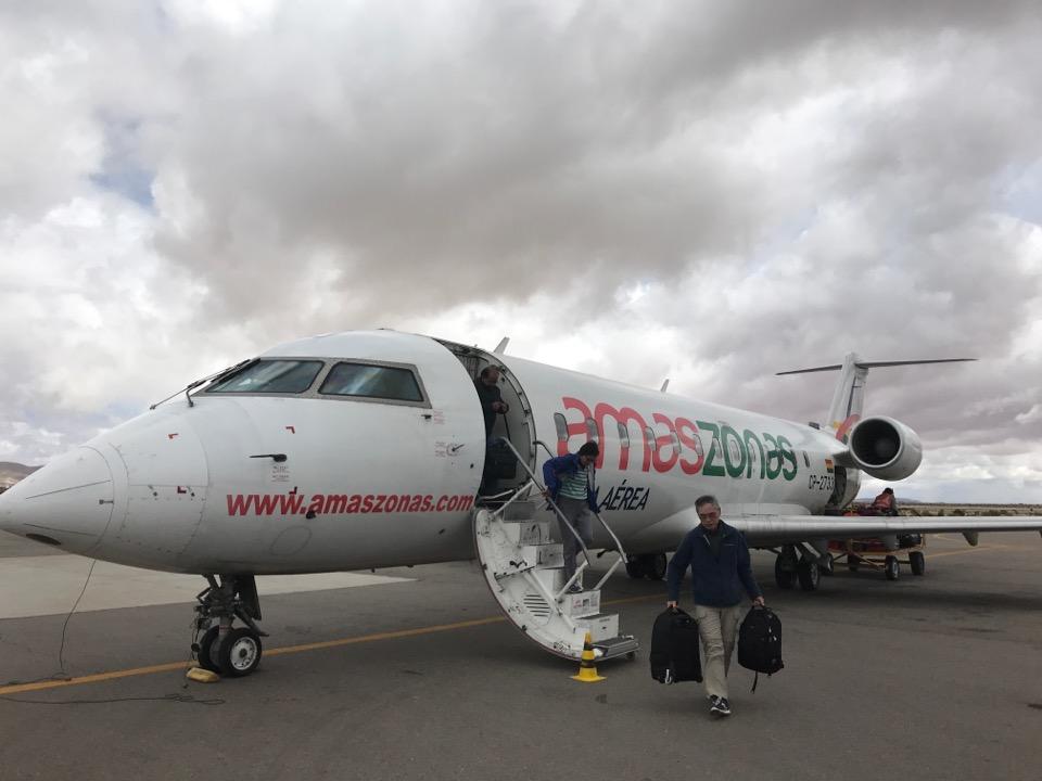 アマゾナス航空の機体