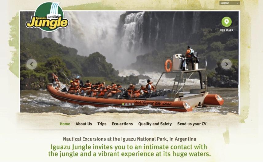 イグアスの滝のツアー