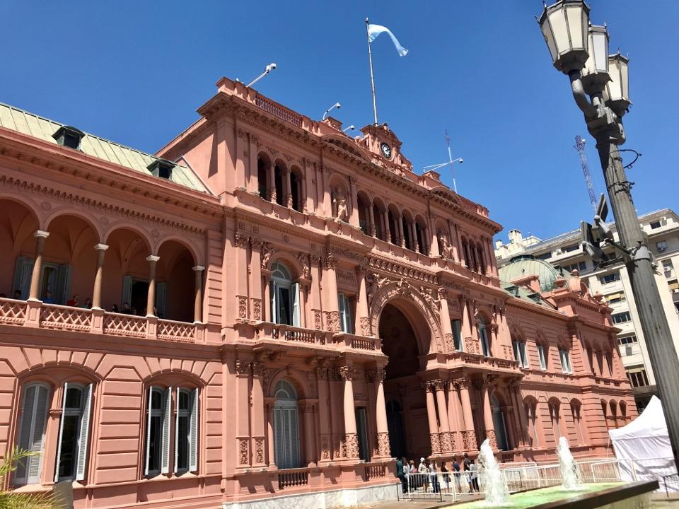 ブエノスアイレスのピンクハウス