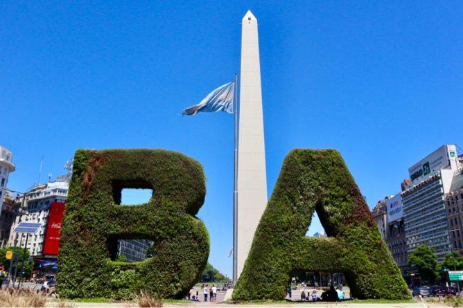 ブエノスアイレスのオベリスク