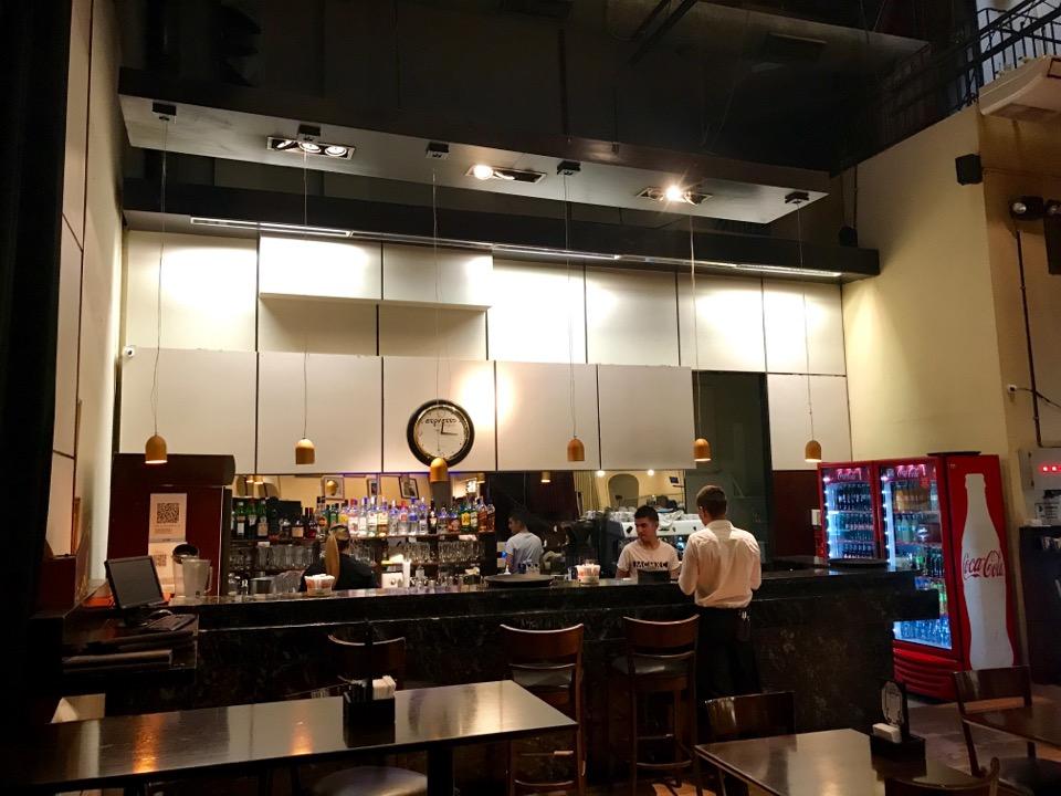 El Ateneoのカフェ