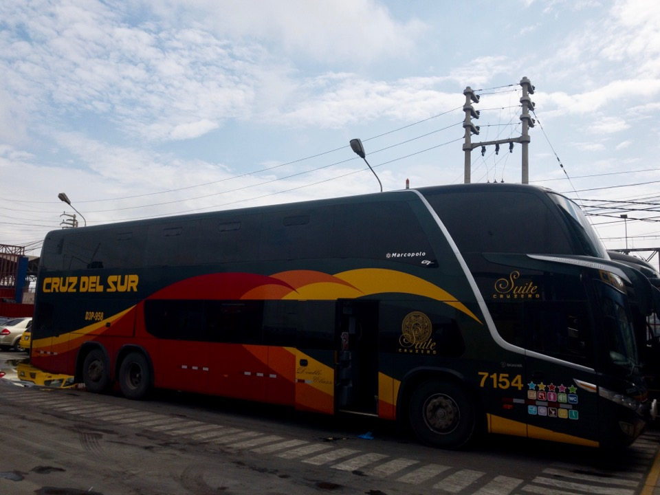ペルーのバス