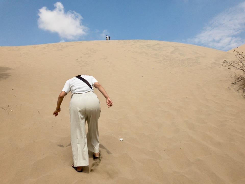 ワカチナの砂漠