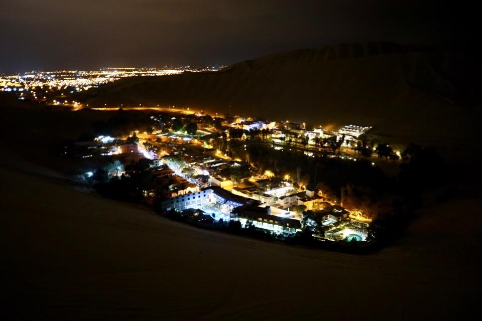 ワカチナの夜景