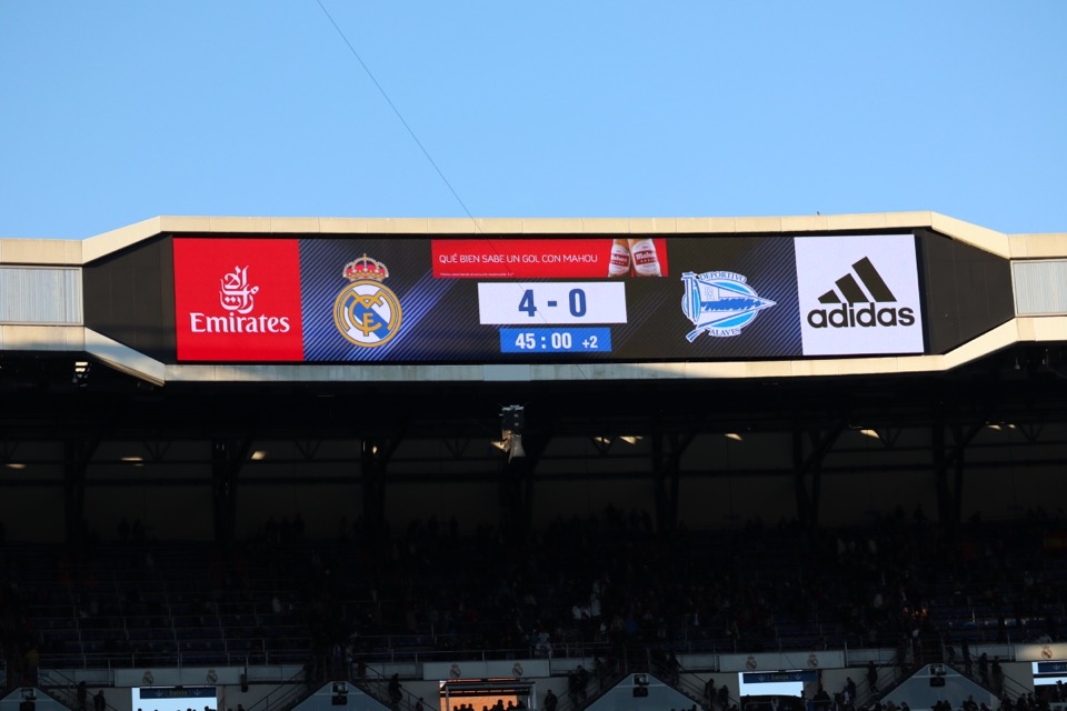 レアルの試合