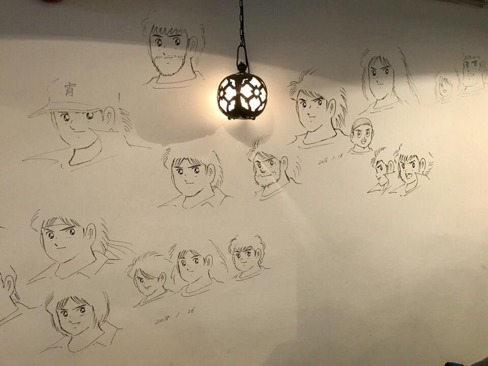 店内のイラスト