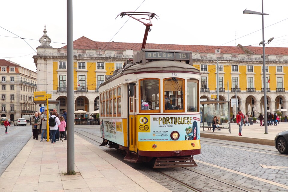 リスボンのトラム