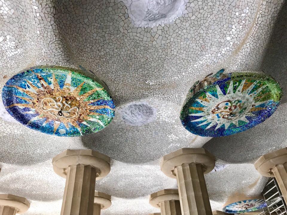 グエル公園の装飾