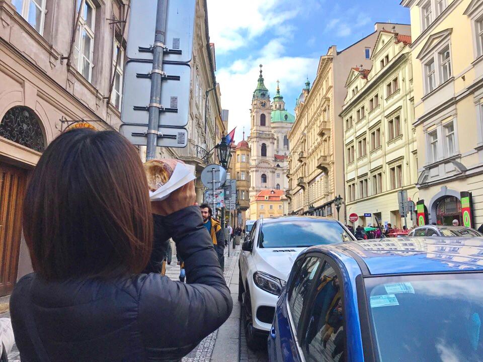 プラハのスイーツ