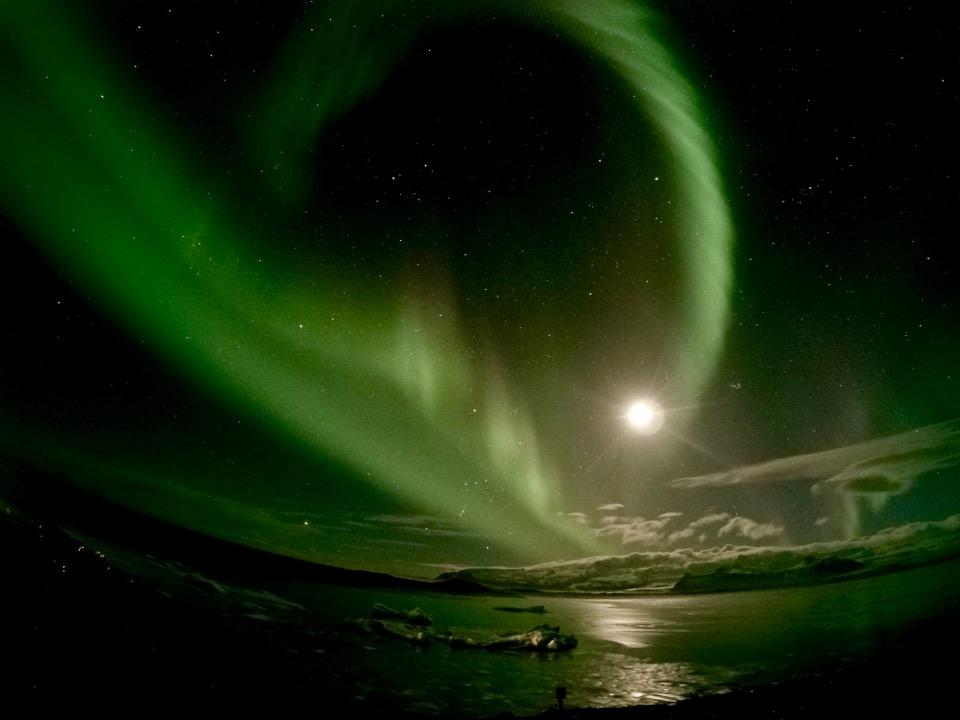 【世界一周】オーロラ見るなら絶対冬のアイスランドだ!!!