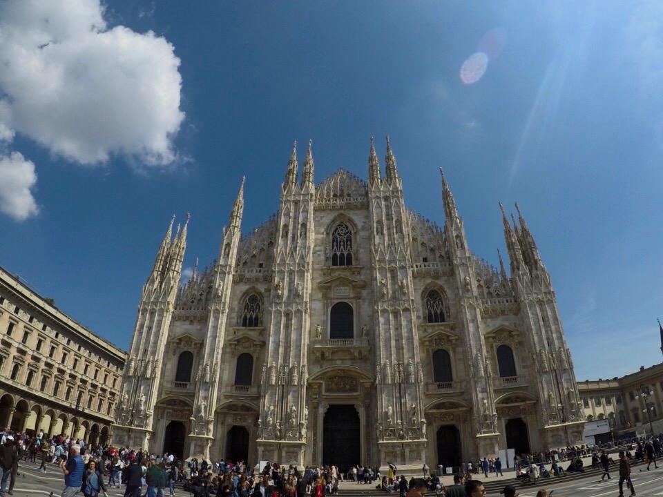 【世界一周】おしゃれな街・ミラノで腹が減る?