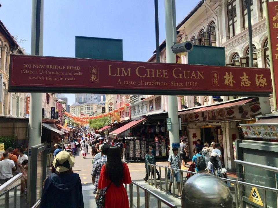シンガポールの中華街