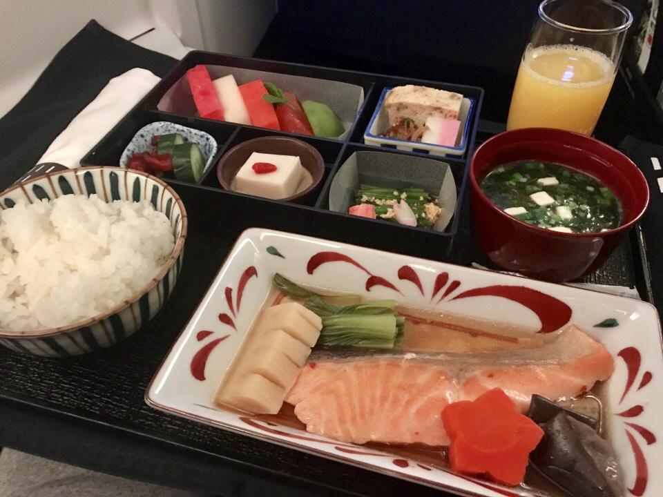 JALビジネスの食事